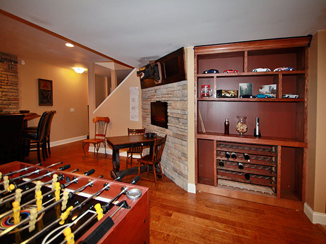 Darien IL Basement Finishing Remodeling Services From Americraft Inc Classy Basement Remodeler