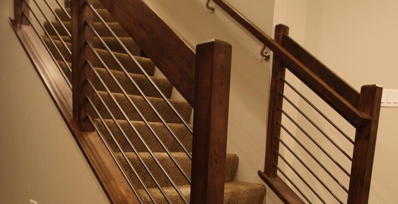 Americraft: Hudson Basement Renovation