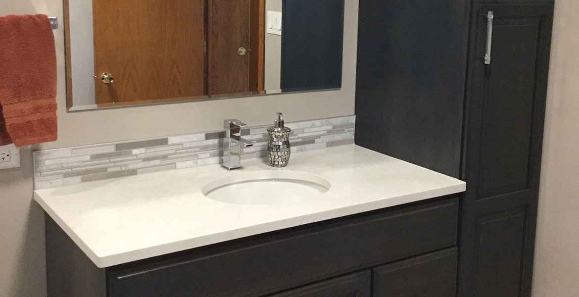 Americraft Downers Grove Master Bath