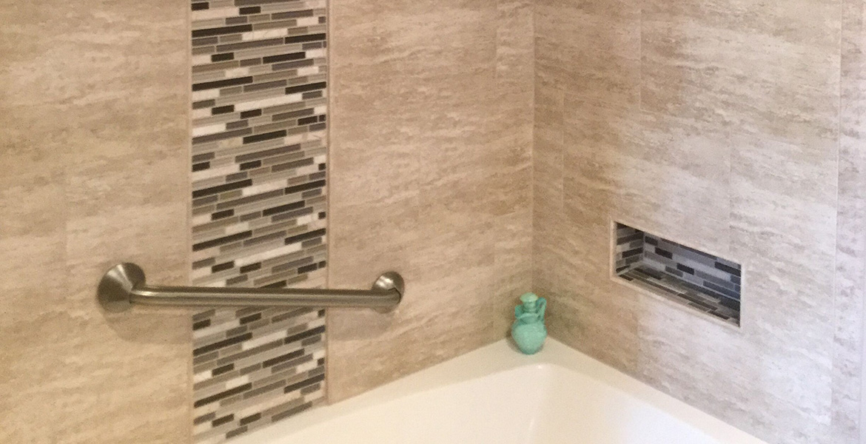 Americraft Lisle Master Bath and Hall Bath Remodel